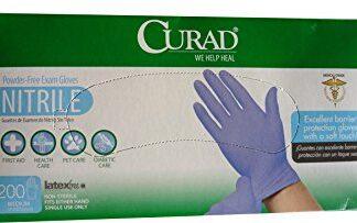 Curad Nitrile gloves