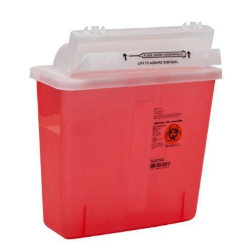 Sharps Container 5 4 quart mail box lid